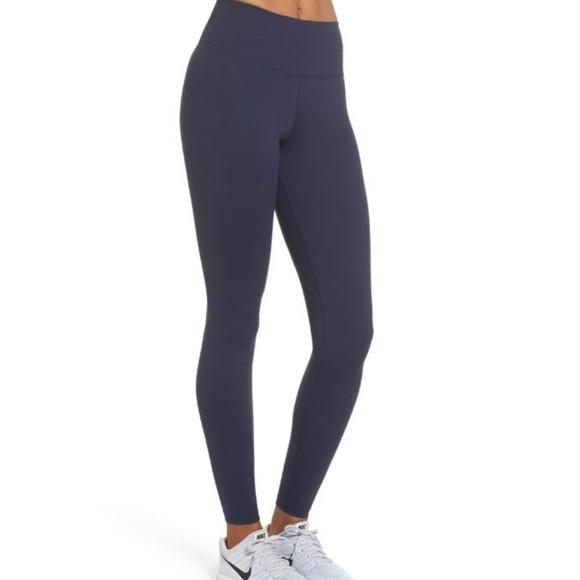 1c11506dba95a6 Nike Pants | Womens Sculpt Lux Compression Navy Blue | Poshmark